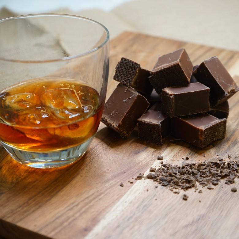 Chocolate Rum Fudge