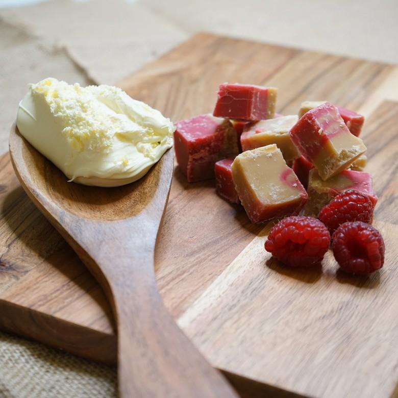 Raspberry Ripple Fudge