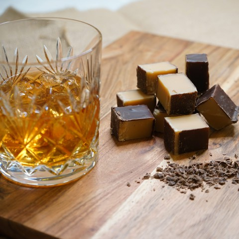 Tennessee Whiskey Fudge