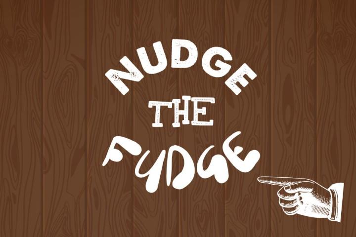 Nudge the Fudge